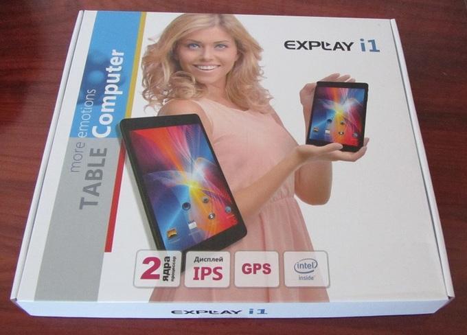 Упаковка Explay i1