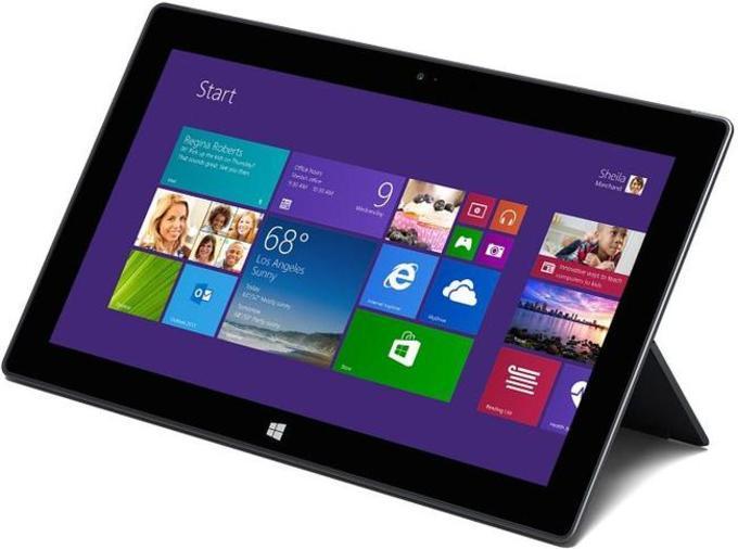 Surface 2 имеет удобную подставку