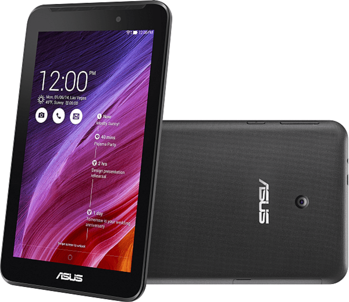 ASUS Fonepad 7 FE170CG представляет собой среднеразмерный планшет