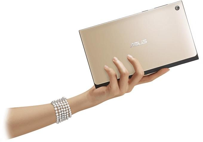 Если перевернуть планшет, то дизайн будет напоминать кошелёк