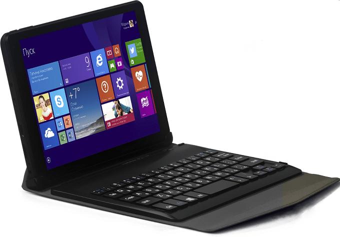 При покупке QUMO Vega 8008W пользователь получает готовую русифицированную Windows 8.1 Pro