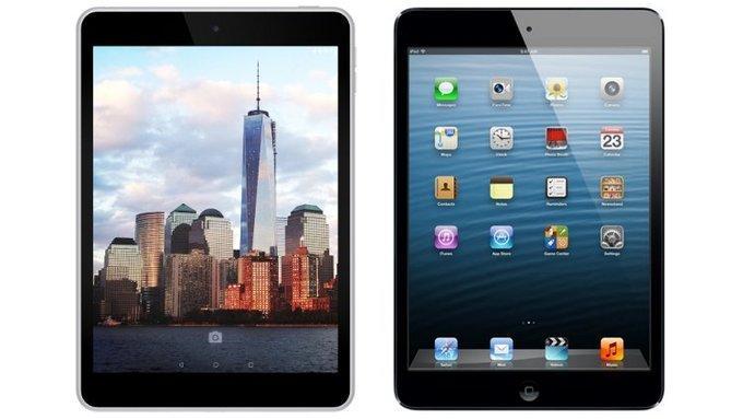 Есть планшеты на Android, которые очень похожи на iPad