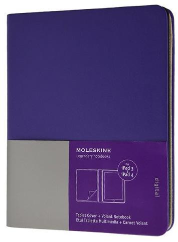 В моделях Moleskine предусмотрен дополнительный блок для размещения записей