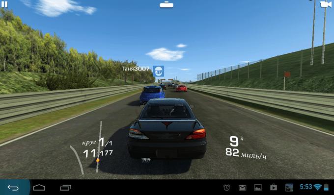 От процессора в планшете зависит детализация графики в игре