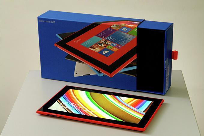 Nokia Lumia 2520 поставляется в «спартанском» варианте