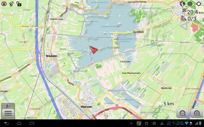OSMAnd - неплохая программа для навигации