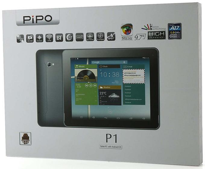 Планшет PiPO P1 3G не умеет заряжаться от компьютера