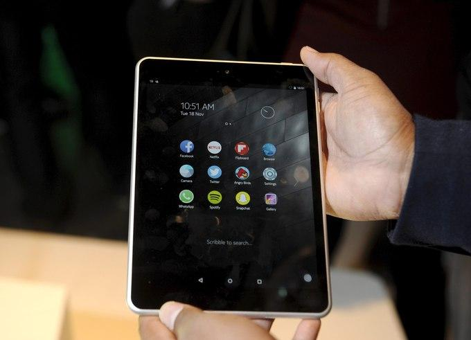 На данный момент Nokia N1 продается только в Китае