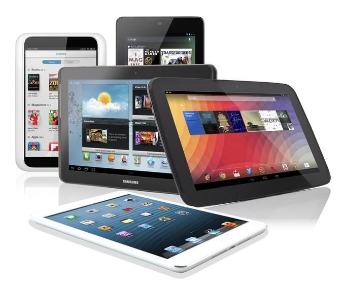 Планшеты на Android и Ios