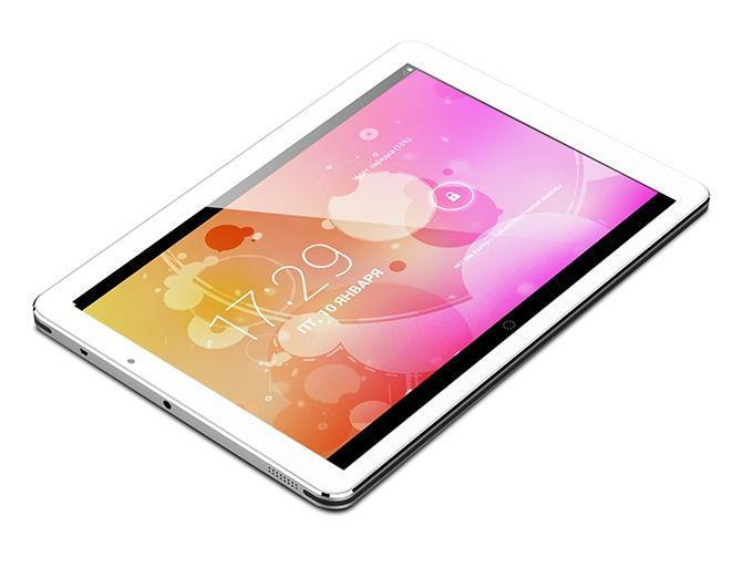 Благодаря встроенному ВТ-модулю, к планшету подключаются внешние источники воспроизведения