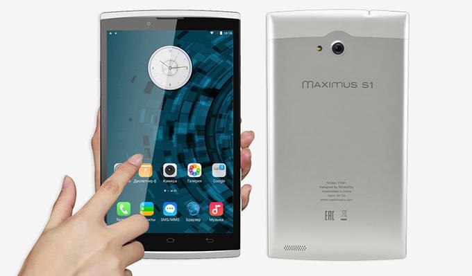 Планшет SENKATEL Maximus S1 сочетает в себе удобную форму и пропорции смартфона с производительностью и возможностями хорошего планшета