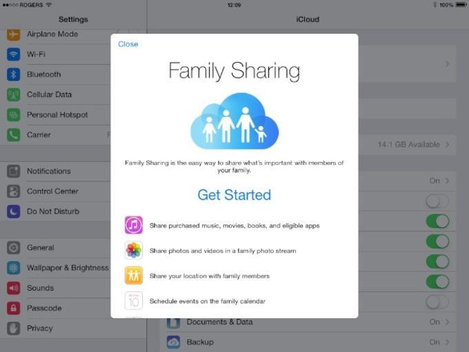 Family Sharing обладает широким и удобным функционалом