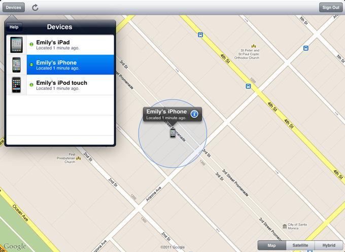 Если все-таки вам повезло и все работает, можно легко воспользоваться функцией «Найти iPhone»