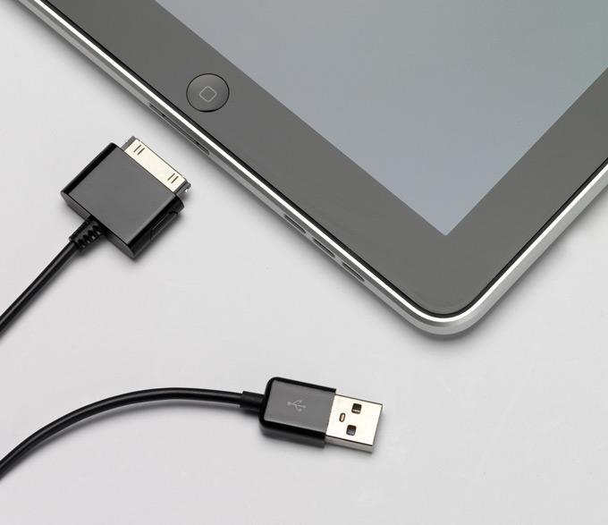 iPad b USB