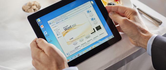 Microsoft Office на планшете