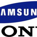 Samsung и Sony - логотипы