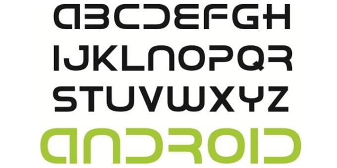 Шрифты для планшетов Андроид