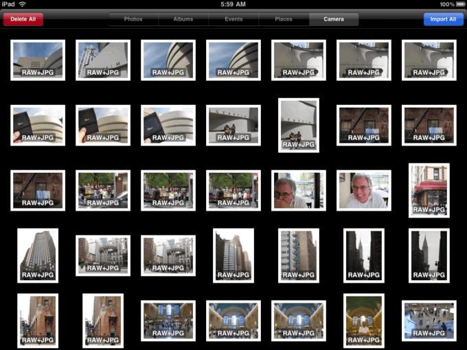 Удалите со своего iPad неудачные фото