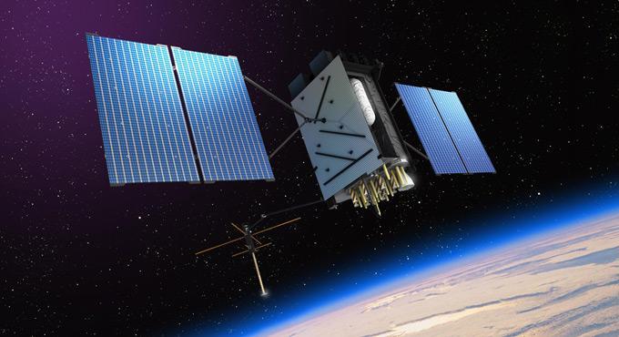 Один из спутников системы GPS