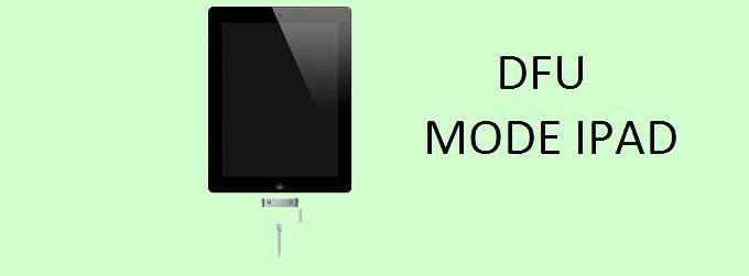 DFU – это одна из полезных функций iPad