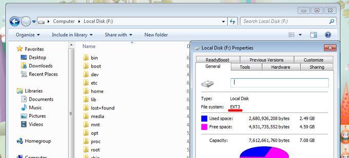 Файловая система EXT3