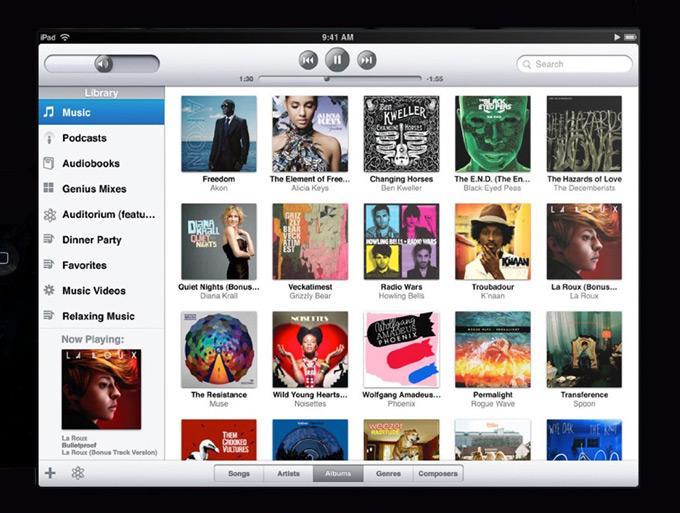 Музыка в iTunes