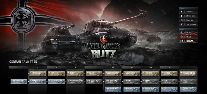 Игра World of Tanks: Blitz