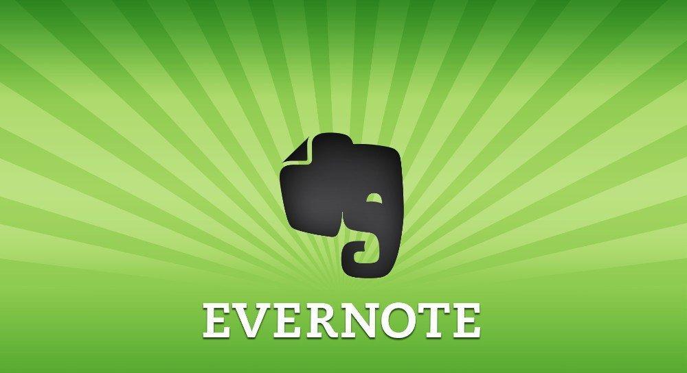 Evernote виджет фото