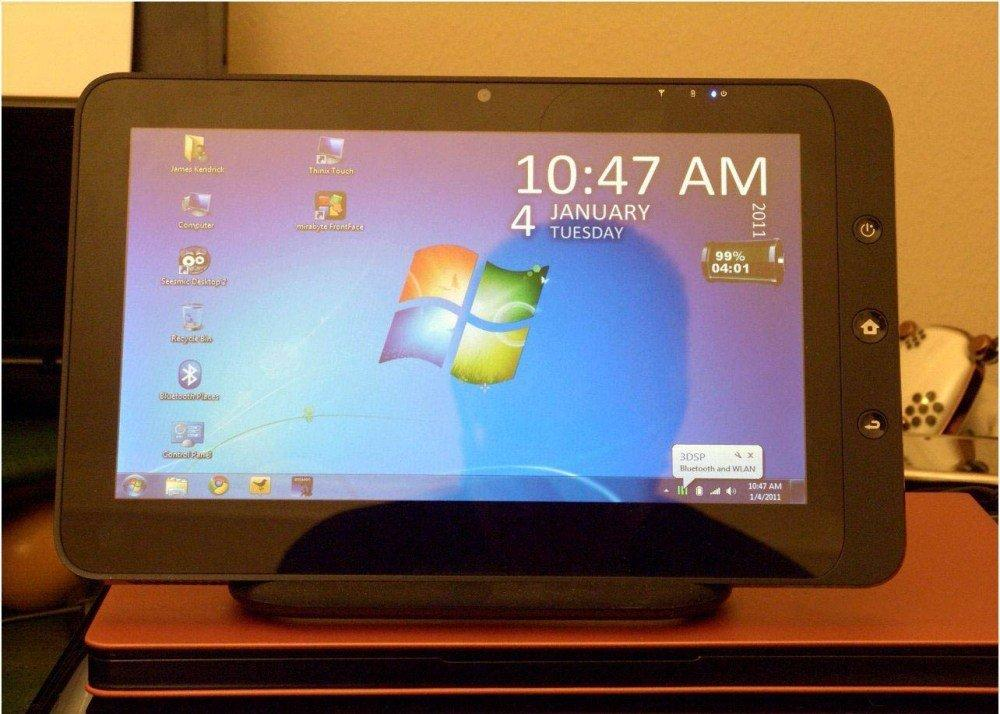 Windows на экране вашего планшета