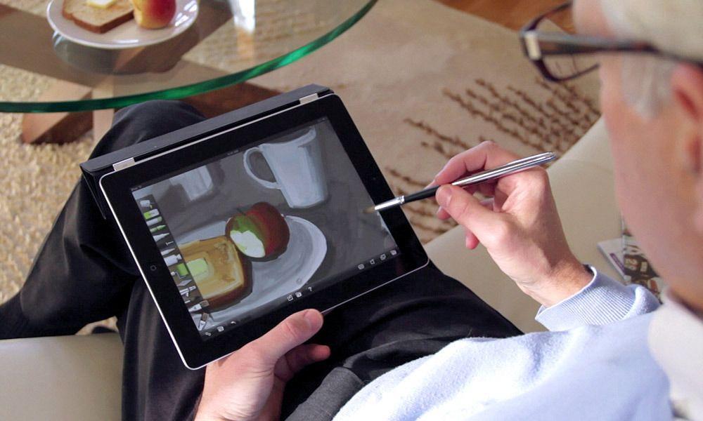 Рисуем на iPad