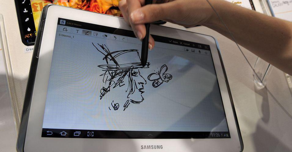 Рисование наSamsung Galaxy Note 10.1