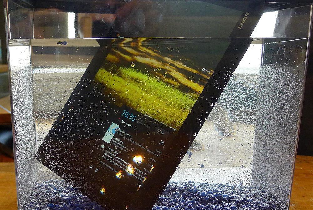 Лучшие водонепроницаемые планшеты