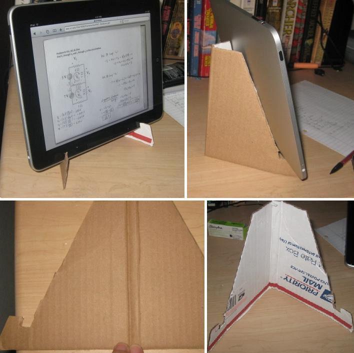 Подставка для фото своими руками из картона