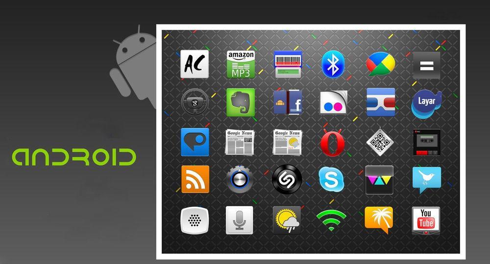 Приложения на планшете