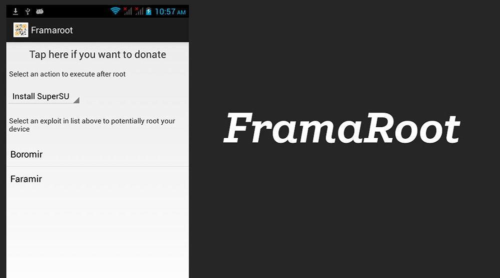 Программа Framaroot для Android