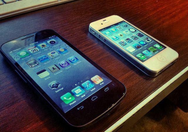 Смартфон с прошивкой под iOS и iPhone