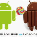 Android 5.0 Lollipop  и 4.4 Kitkat