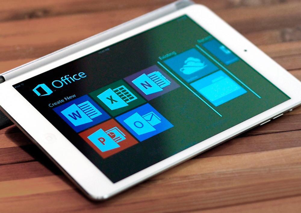 Office 365 для iPad