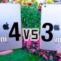 Сравнение iPad mini 3 и iPad mini 4
