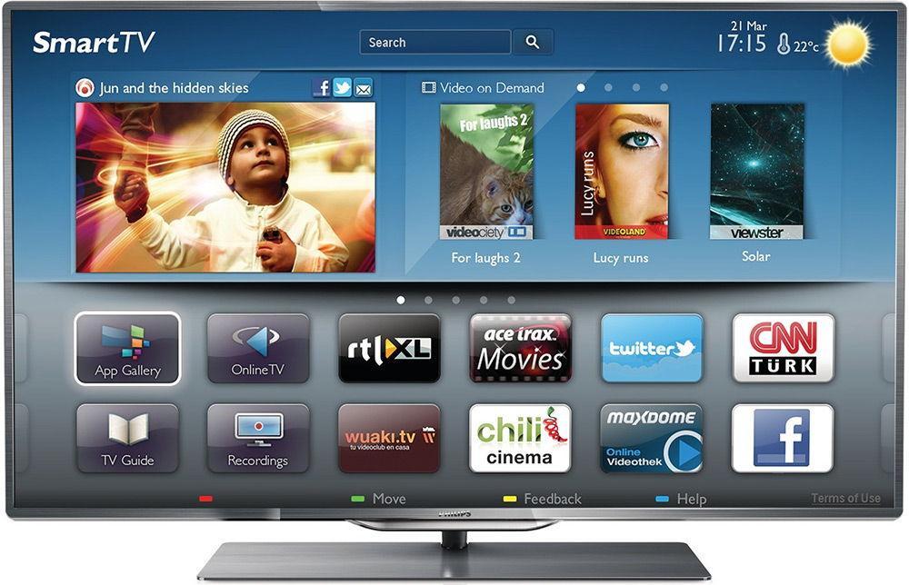 Телевизор с технологией Smart TV