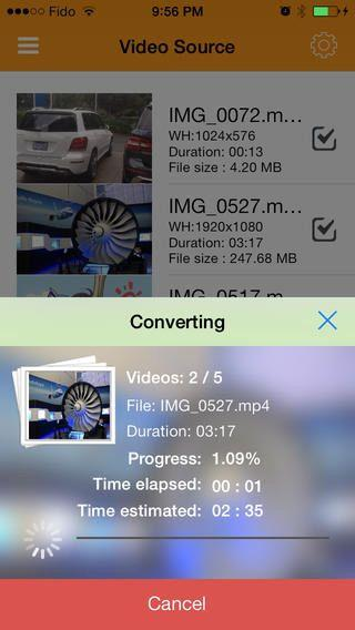 Приложение Video Converter for iPhone