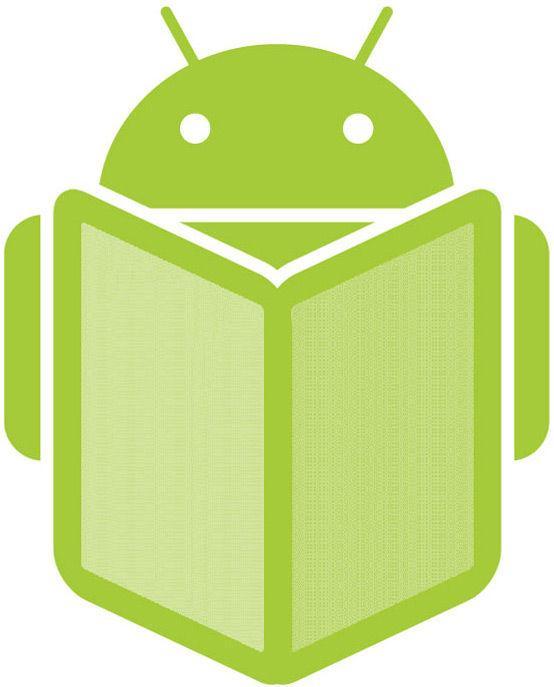 Андроид за чтением