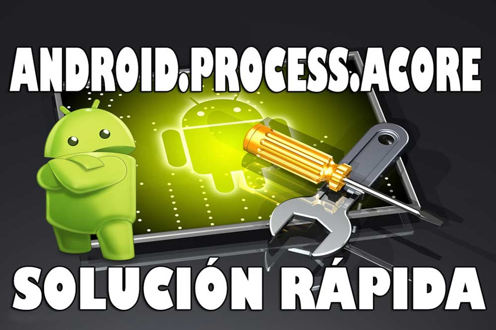 Ошибка android process acore