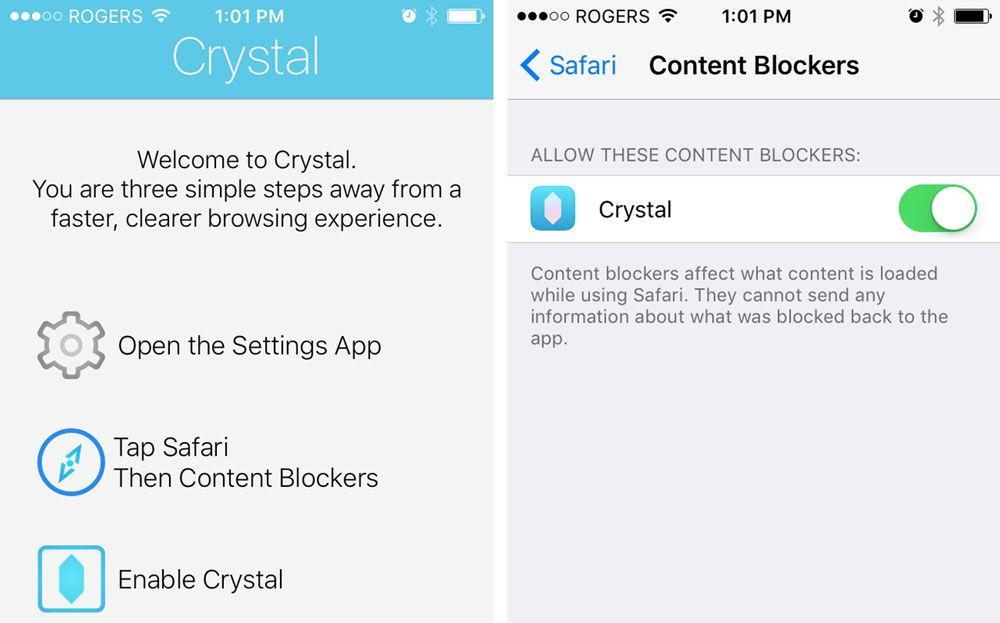 Настройка программы Crystal