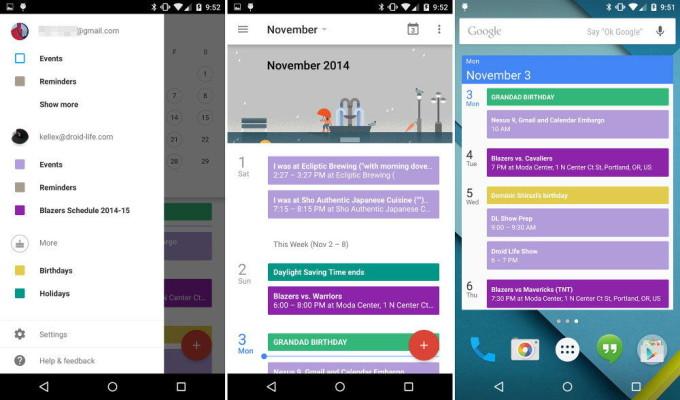 Популярный Google Календарь
