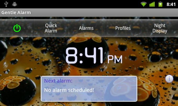 Приятный Gentle Alarm