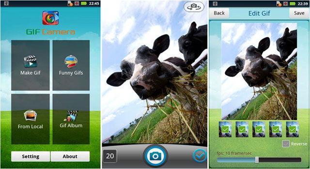 Популярная GIF Camera для Андроид