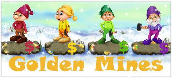 Интересная и доходная игра Golden Mines