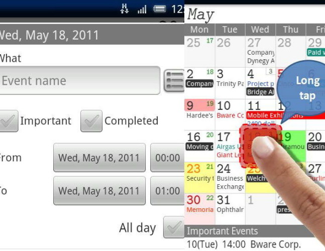 Обзор функций Jorte для Андроид