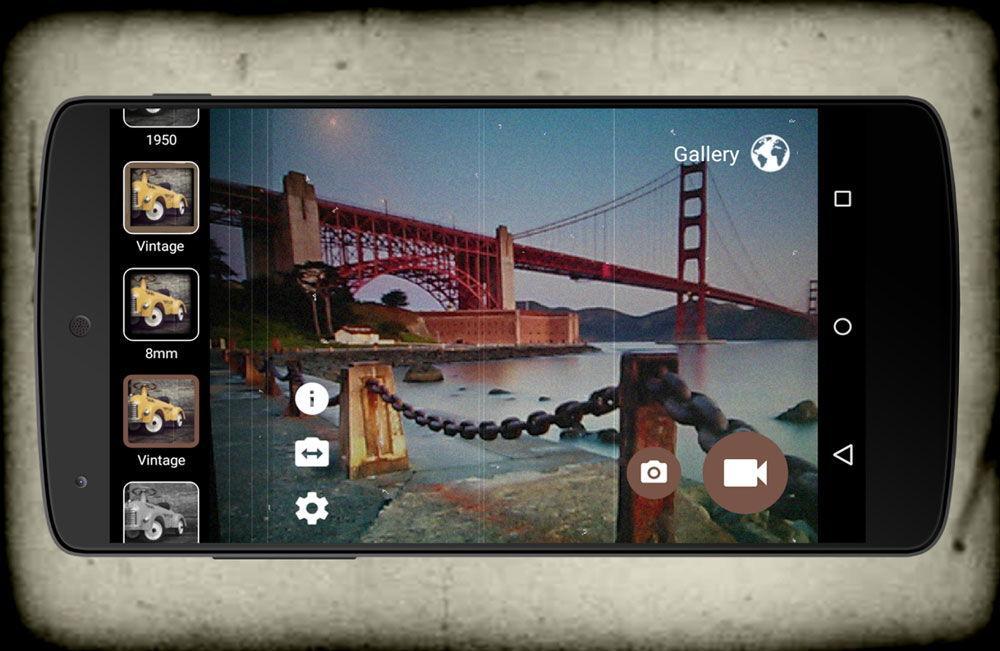 Необычное приложение «Ретро камеры»
